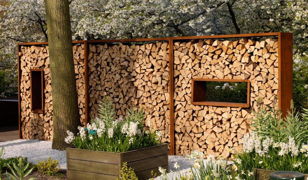 Дровник для дачи своими руками (47 фото): способы изготовления деревянного дровяника по чертежам. как построить красивый дровник поэтапно? варианты дизайна