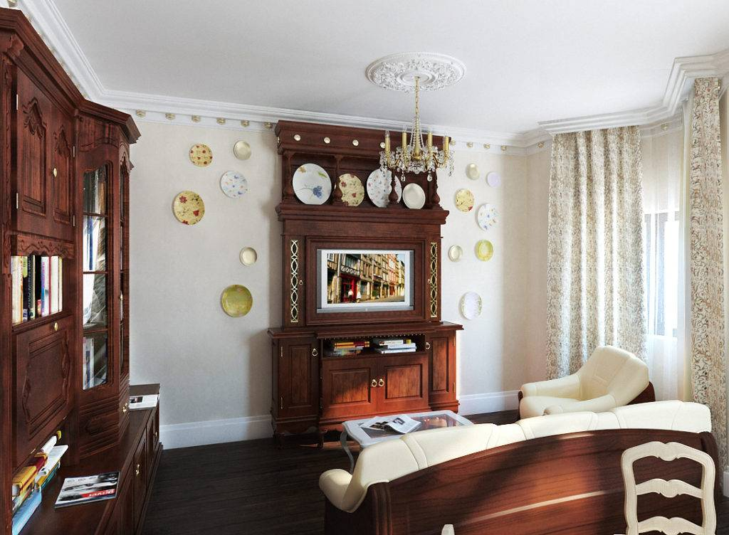 Интерьер гостиной в стиле прованс: как оформить зал, идеи дизайна помещения с фото