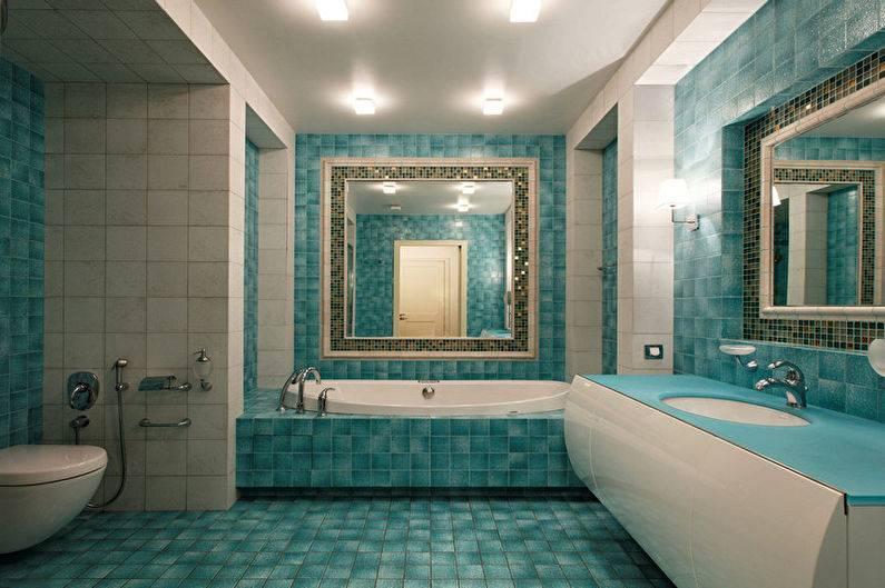 Голубая ванная: идеи и секреты правильного дизайна (55 фото) | дизайн и интерьер ванной комнаты