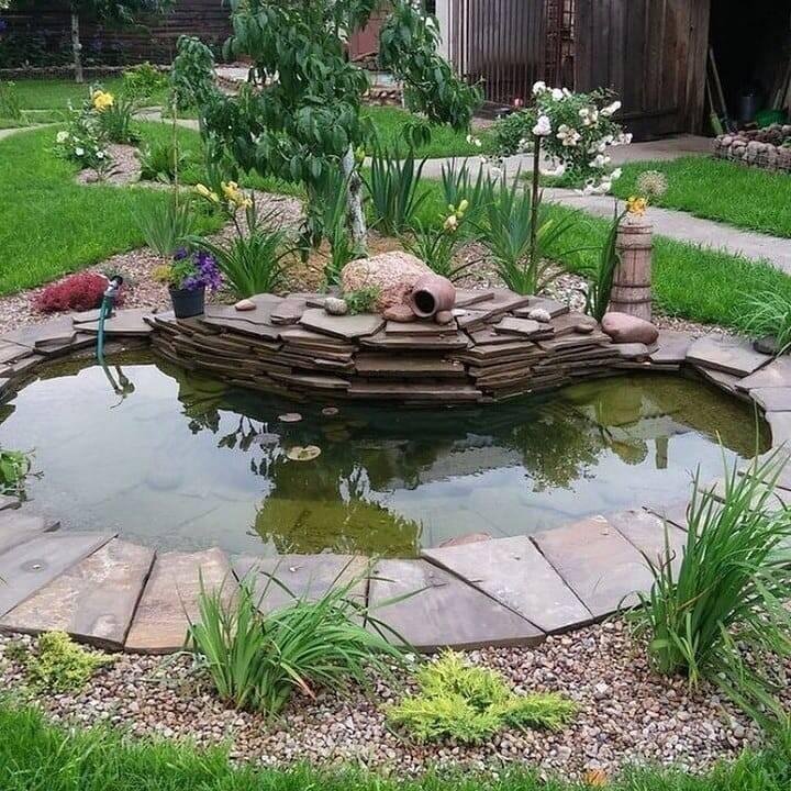 Как сделать пруд своими руками: 100 фото с инструкцией - огород, сад, балкон - медиаплатформа миртесен