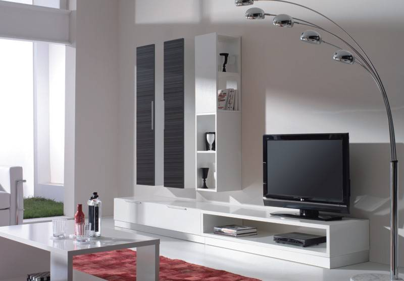 Стенки под телевизор в современном стиле