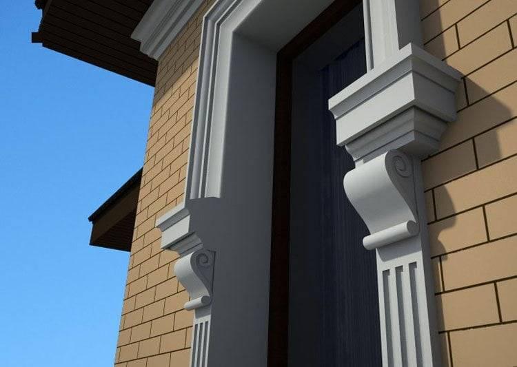 Фасадный декор: виды и названия декоративных элементов фасада дома