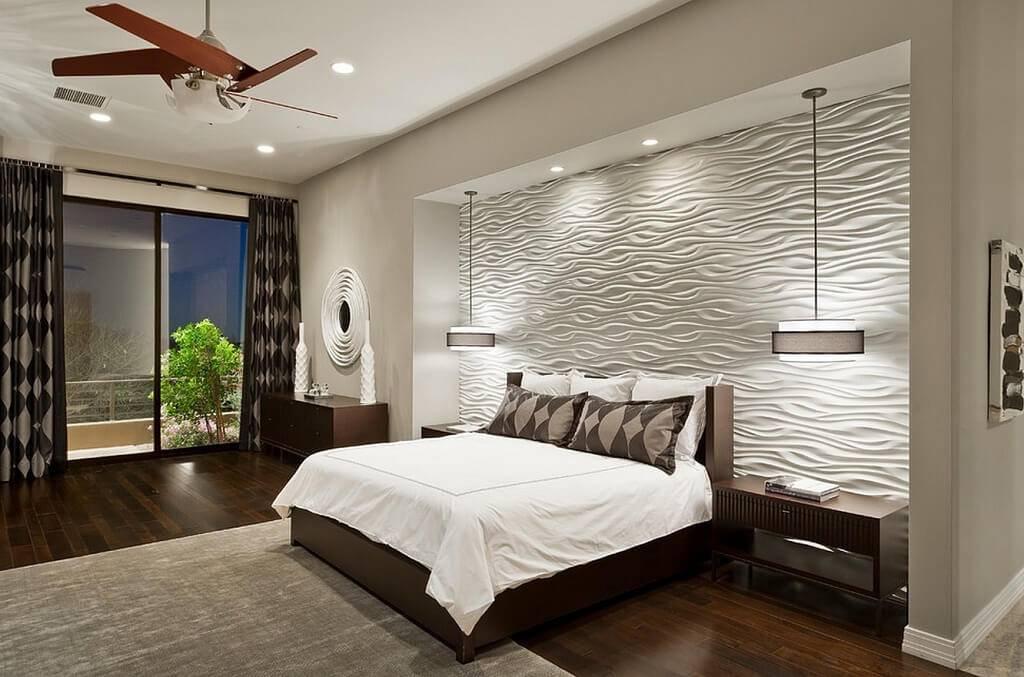 Отделка спальни: интересные варианты и полезные рекомендации