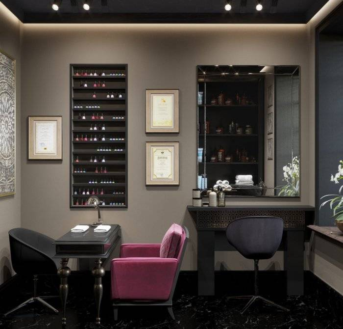 Идеи интерьеров салона красоты и правила зонирования • журнал nails