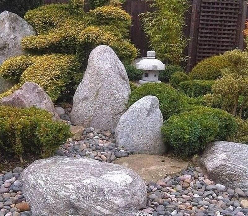 Японский каменный сад своими руками + 38 фото, в чем секрет