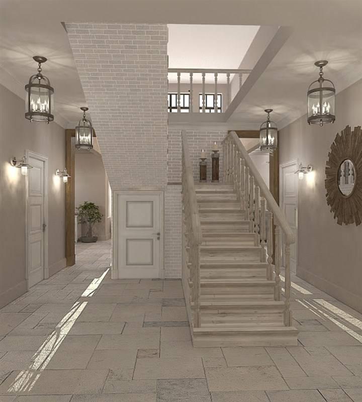 Дизайн холла в частном доме и квартире