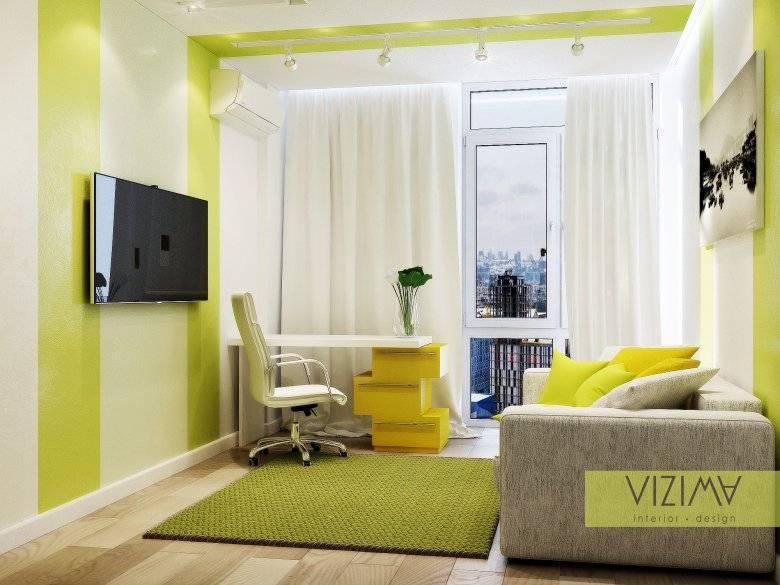 Как разместить диван и кровать в одной комнате?