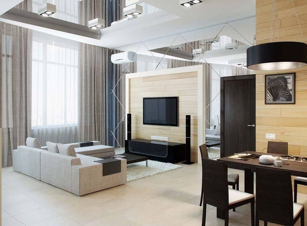 Кухня, совмещенная с гостиной: оформление интерьера