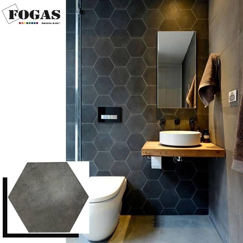 Туалет в квартире из плитки: 100 фото готовых решений