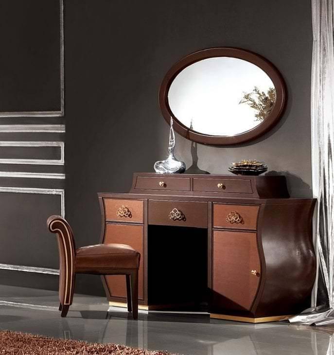 Трюмо (55 фото): что это такое и как выбрать красивую угловую модель, белый комод-трюмо с зеркалом и подсветкой