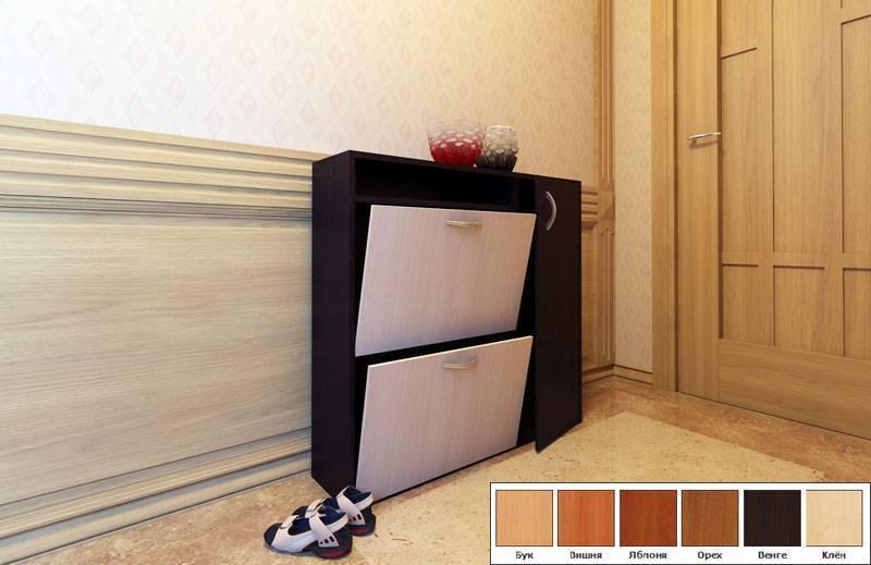 Обувница в прихожую: разновидности, критерии правильного выбора