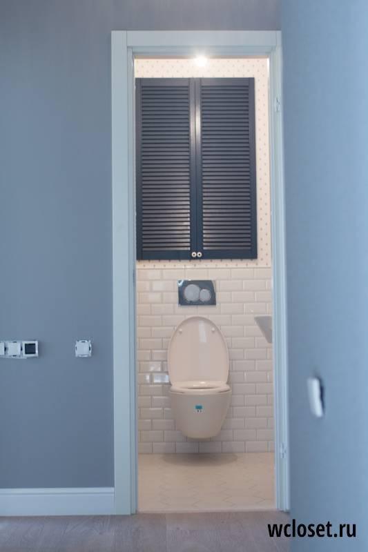 Какие встречаются сантехнические шкафы в туалет, обзор моделей