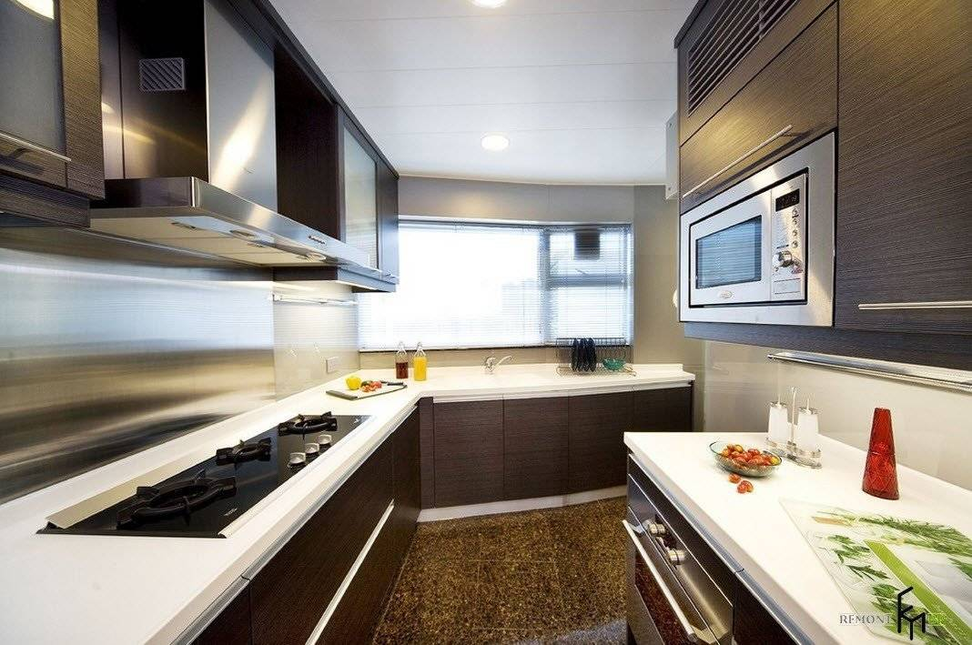 Какой кухонный гарнитур выбрать: по цвету, материалу, для маленькой кухни