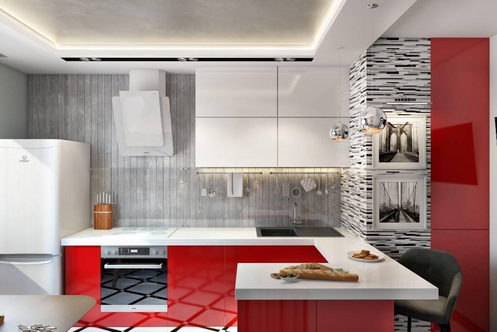 Кухни в стиле хай-тек: 50 лучших фото и секреты современного дизайна