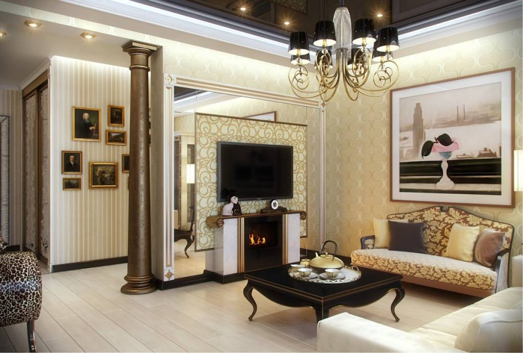 Стиль арт-деко в интерьере, его особенности для каждой комнаты