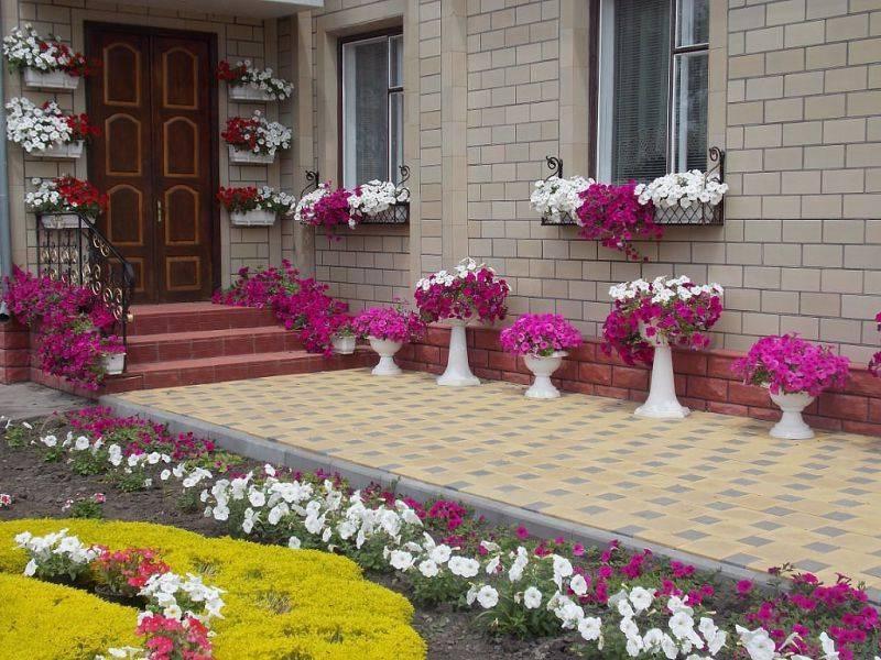 Как красиво оформить двор частного дома: несколько простых идей от декораторов