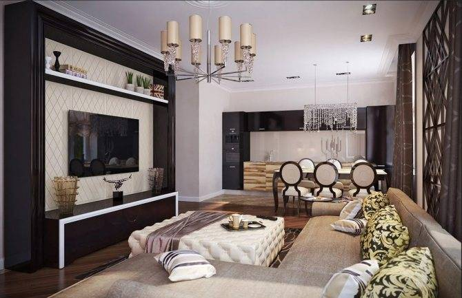 Гостиная в стиле арт-деко – воплощение роскоши и уюта в интерьере