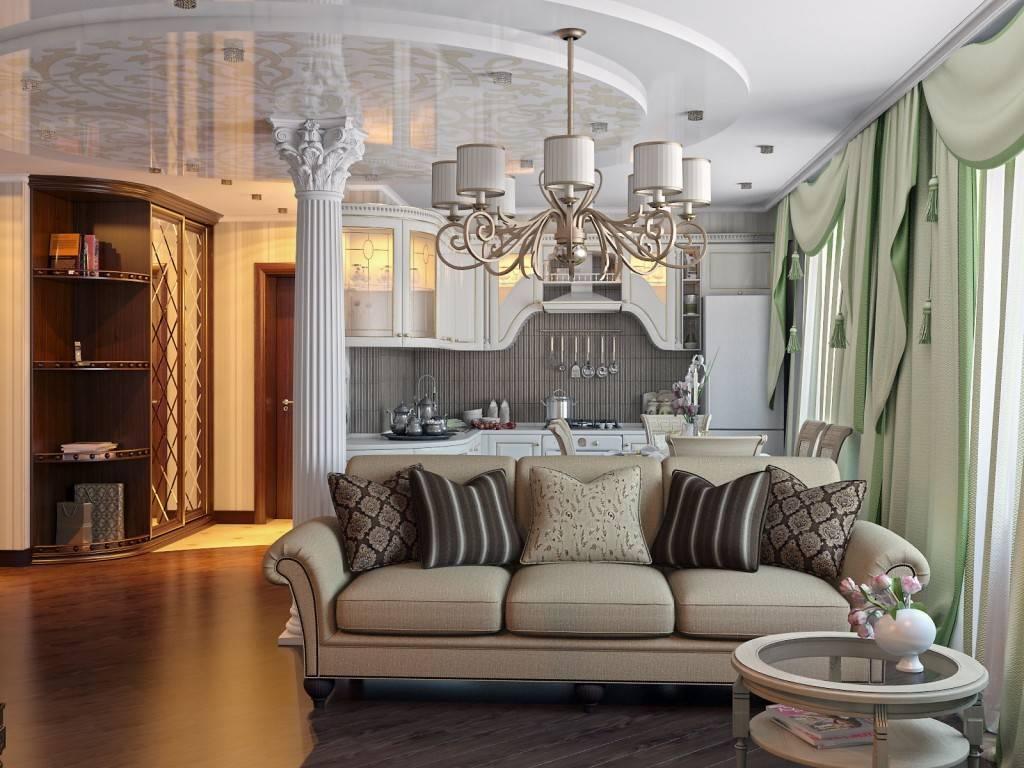 Интерьер квартиры в классическом стиле — 25 фото | правильный дизайн квартиры и дома
