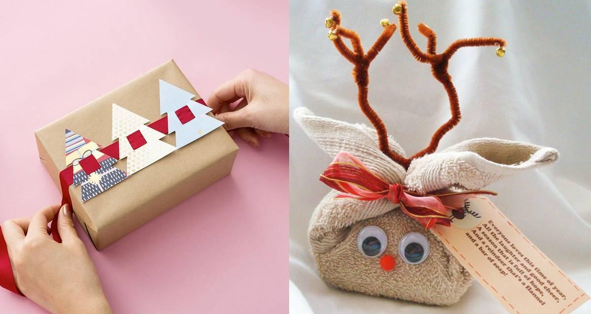 10 способов красиво и необычно упаковать подарок своими руками