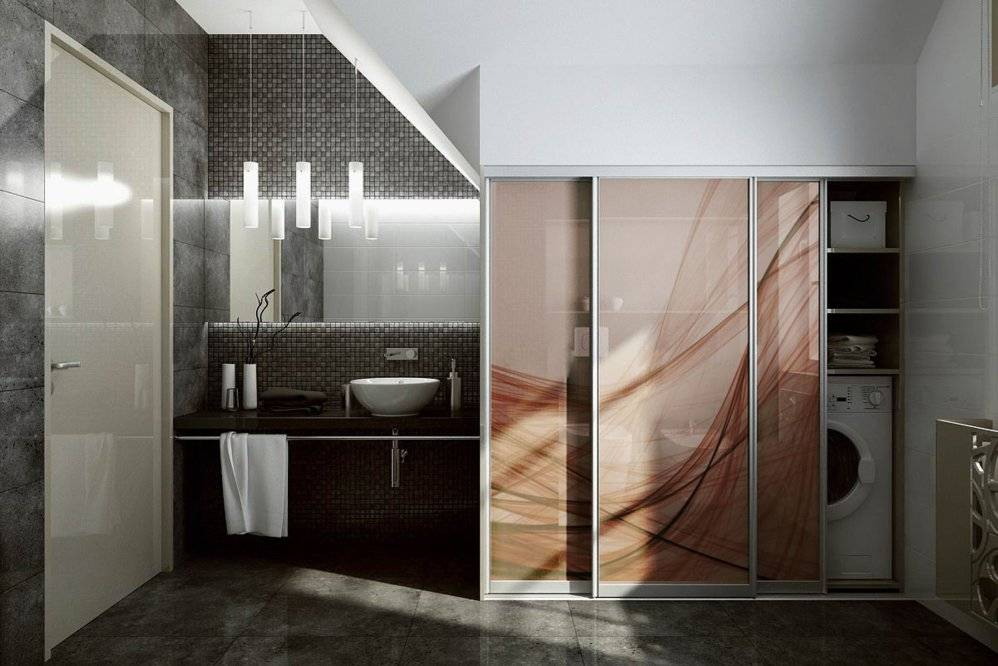 Шкаф в ванную (131 фото): встроенный шкафчик в ванную комнату, встраиваемая конструкция - изделие над стиральной машиной, шкаф-зеркало подсветкой из ikea