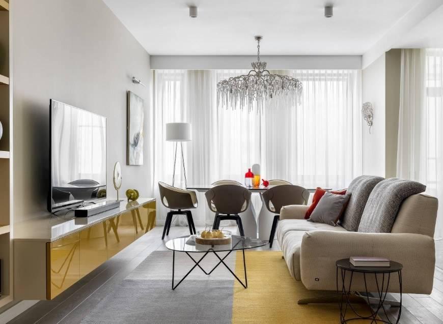 Современные интерьеры маленьких квартир: 14 дизайн-проектов