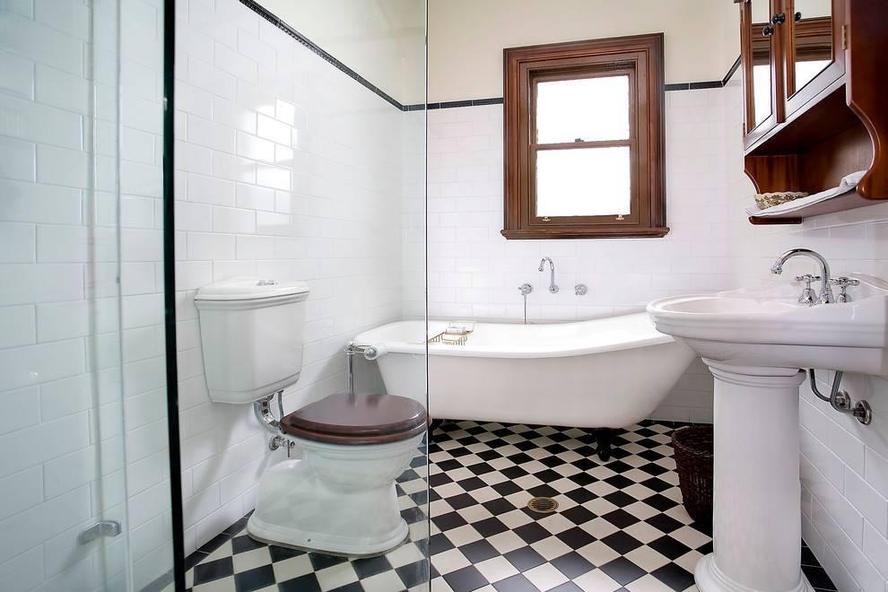 Белая ванная комната: дизайн интерьера 24 фото