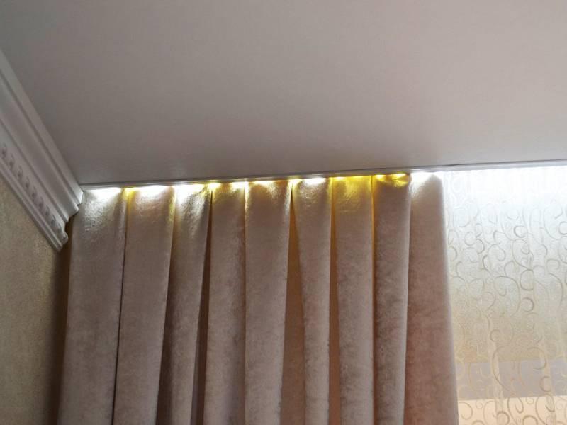 Карнизы для штор (94 фото): что это такое и как выбрать, виды крепления
