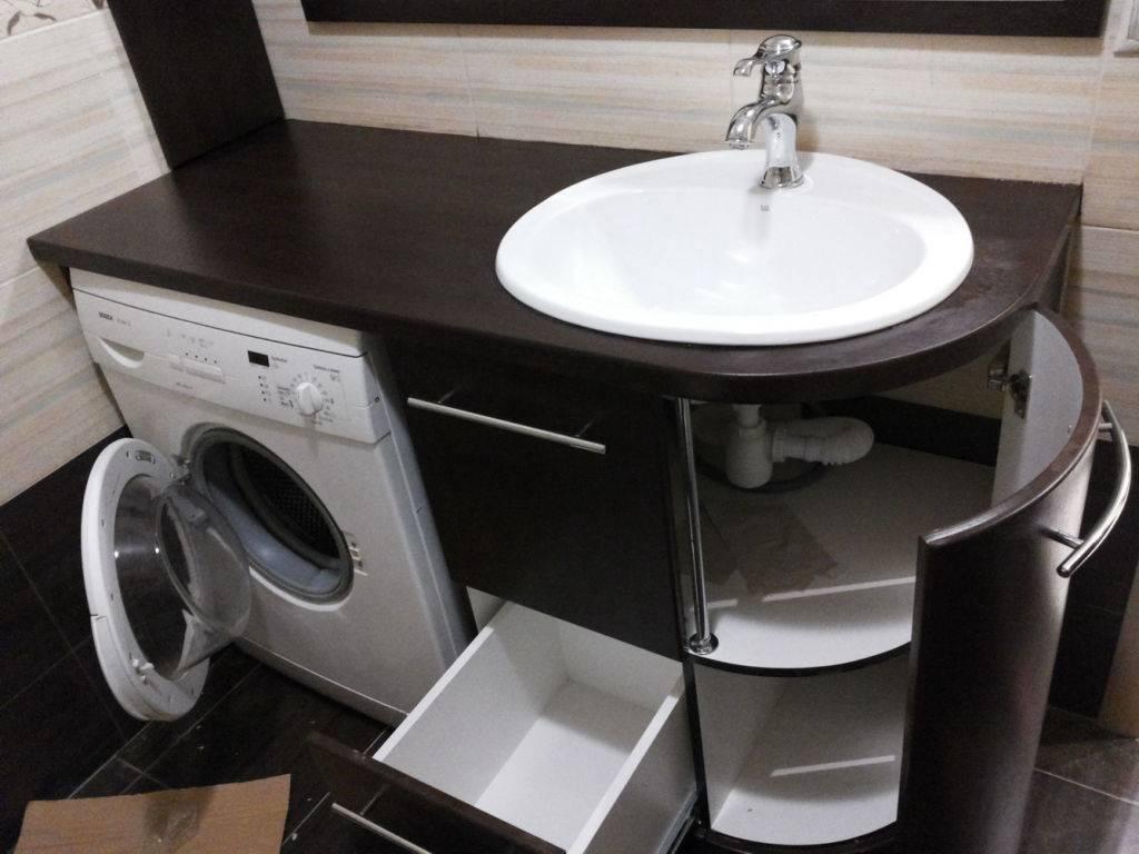 Столешница для ванной комнаты (реальные фото)