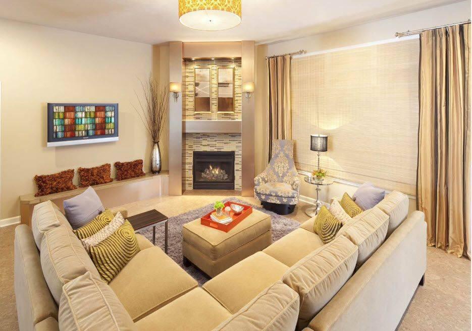 85 идей дизайна маленькой гостиной (фото)