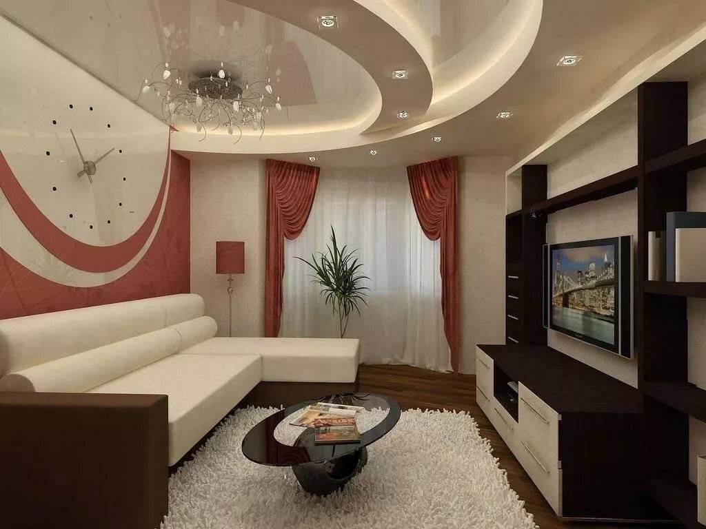 Современные идеи дизайна гостиной (123 фото): интерьер комнаты в стиле «классика», варианты декора зала в квартире - 2021
