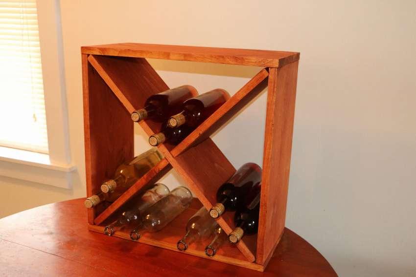 Стеллажи для вина: виды и изготовление своими руками