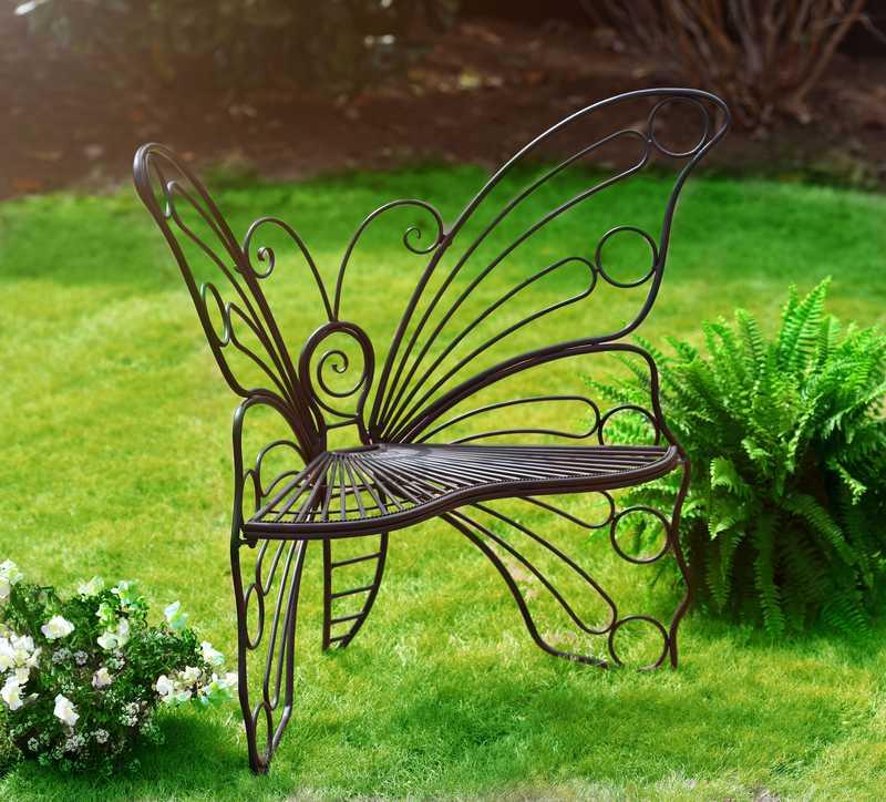 Садовая скамейка для дачи своими руками - 6 проектов в фотографиях