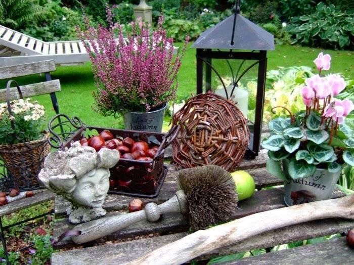 Садовый декор – идеи применения оригинальных украшений для маскировки садового экстерьера