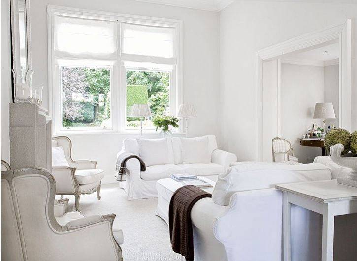 Белый цвет и комфортный дорогой интерьер: как совместить эти понятия