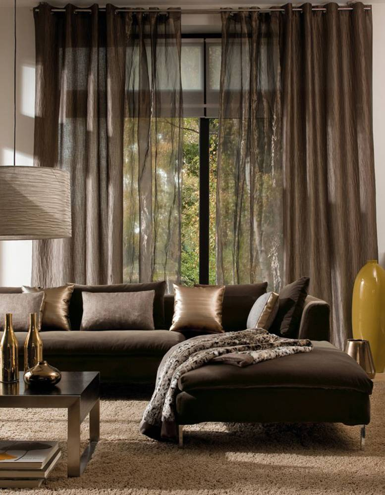Бордовые шторы в интерьере: 50 фото с идеями оформления