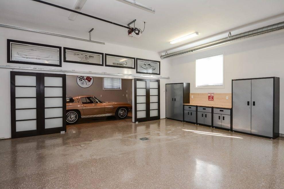 Дизайн и отделка гаража в частном доме