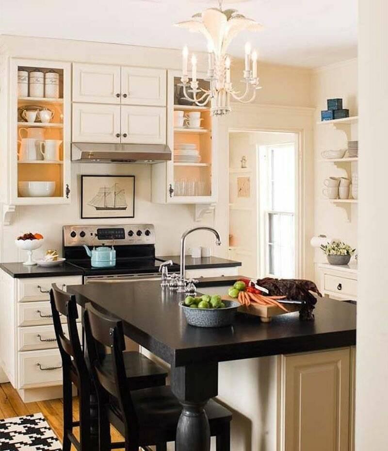 Дизайн маленькой кухни 2020 года: модные стили, тренды и советы по выбору цвета (140 фото)