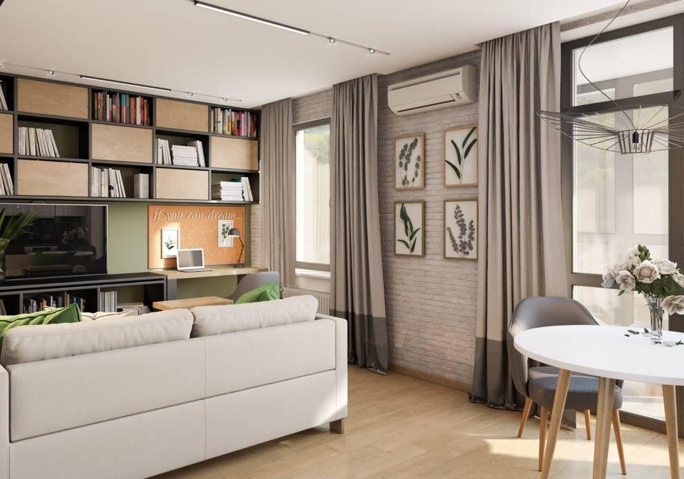 Интерьер квартиры 37 кв. м. – 50+ фото, современные идеи дизайна