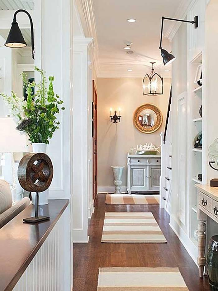 Освещение в прихожей (77 фото): какие выбрать светильники в коридор с натяжными потолками и с зеркалами, идеи дизайна