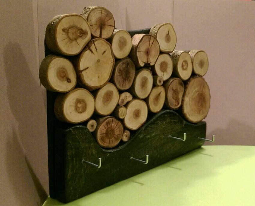 23 идеи что можно сделать из спилов дерева