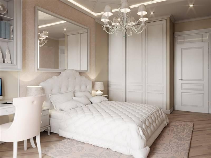Светлая спальня: стильный дизайн и лучшие идеи дизайна интерьера (135 фото)