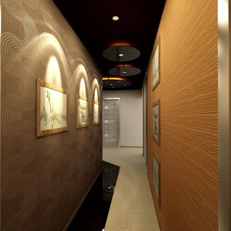 Идеи и решения в дизайне интерьера длинного коридора