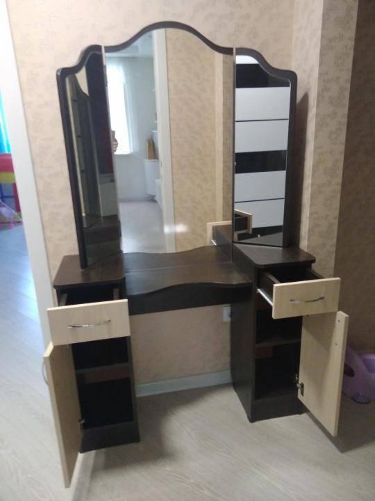 Туалетный столик - 100 фото дизайнерских идей и стильных проектов