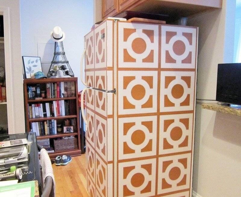 Оклейка мебели вниловой пленкой   оклейка самоклеющейся пленкой холодильников, шкафов и другой мебели. низкие цены