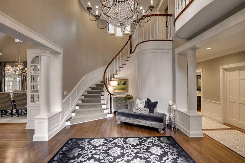 Дизайн холла в частном доме — как сделать прихожую оригинальной? примеры красивых прихожих с фото