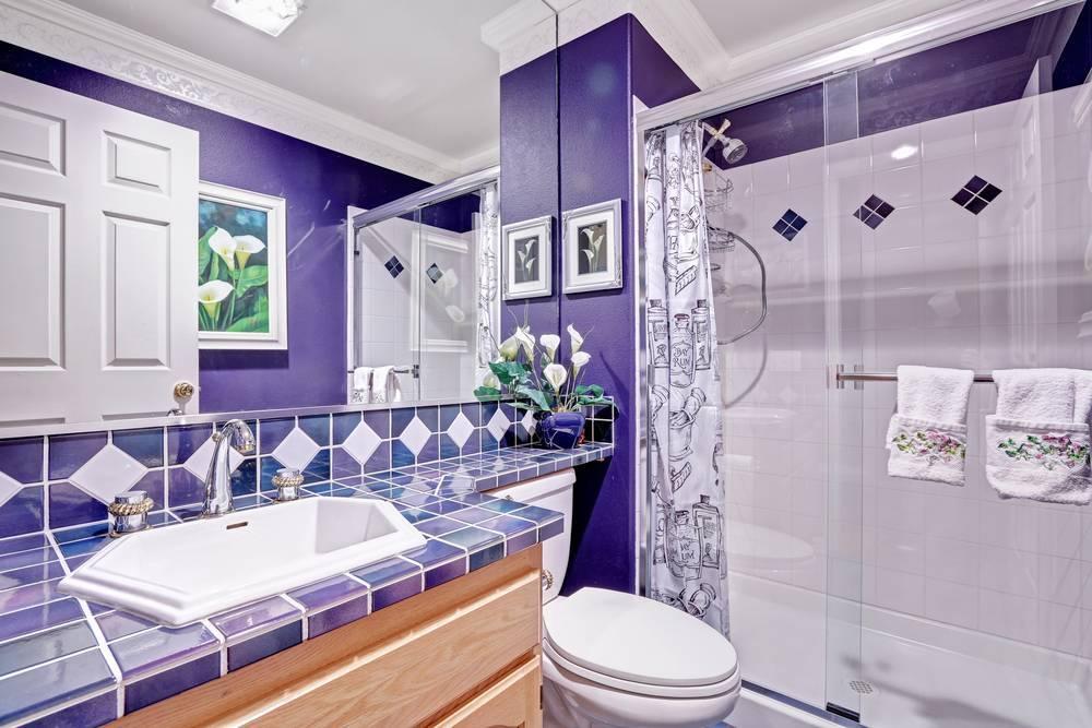 Дизайн плитки в туалете: 80+ лучших фото, идеи в интерьере квартиры