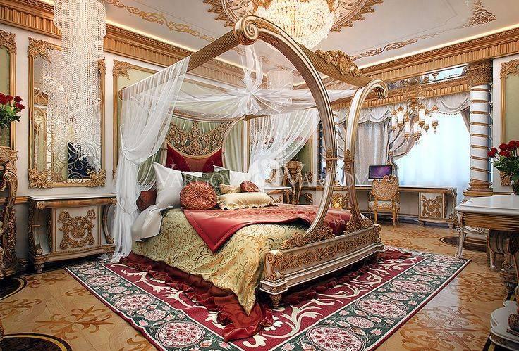 Спальня в восточном стиле (48 фото): дизайн интерьера в арабском стиле