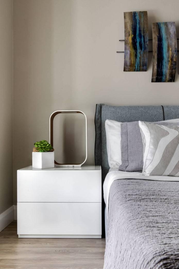 Полки в спальню: 120 фото современных вариантов дизайна спальни с полками