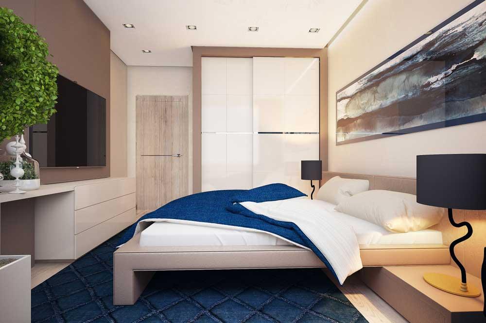 Дизайн спальни 13 кв м: увеличиваем пространство и разделяем комнату на отдельные зоны