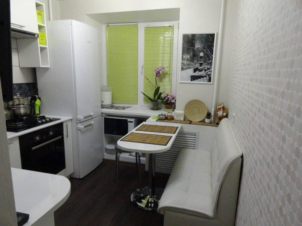 Кухня 4 кв.м. (90 фото) - дизайн интерьера, идеи для ремонта и отделки маленькой кухни